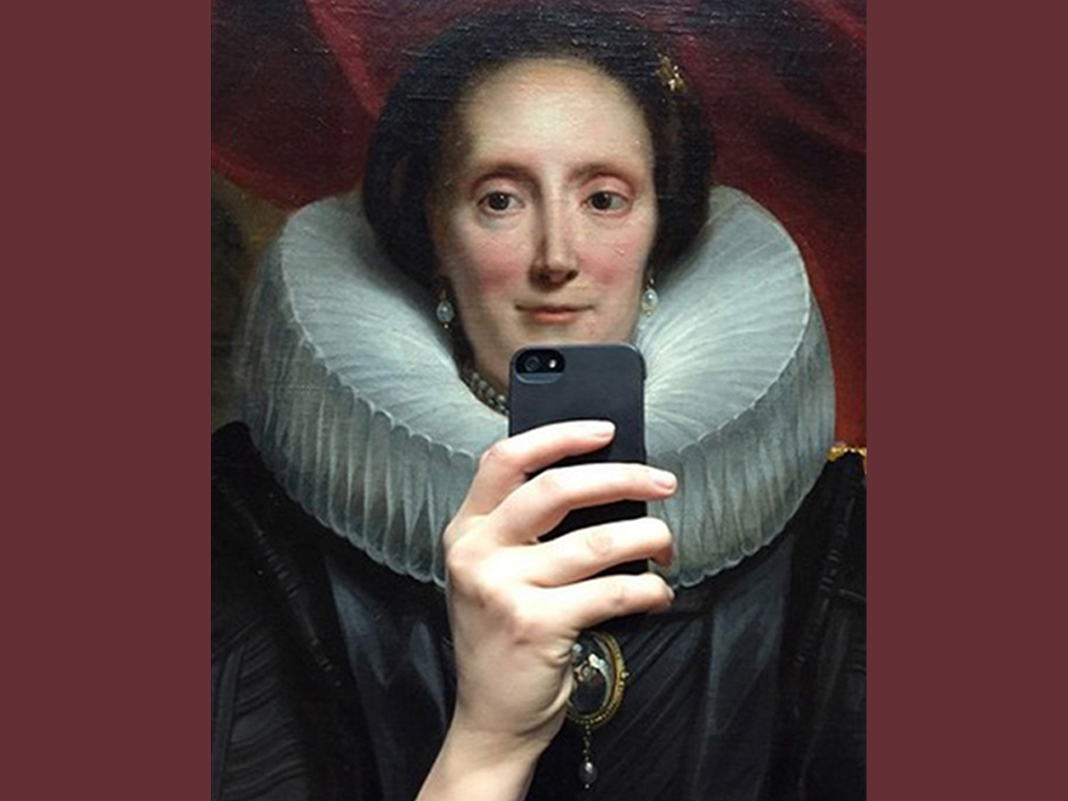 Selfie lovers and museum enthusiasts unite!